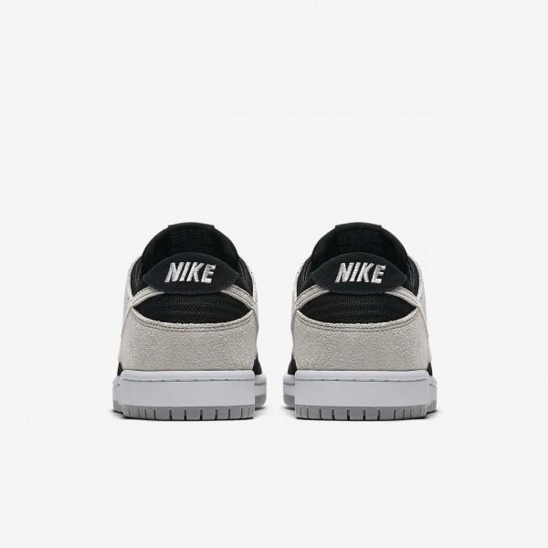 Nike Sb Dunk low Pro Skaterschuhe Herren Schwarz Weiß Grau 823-24538