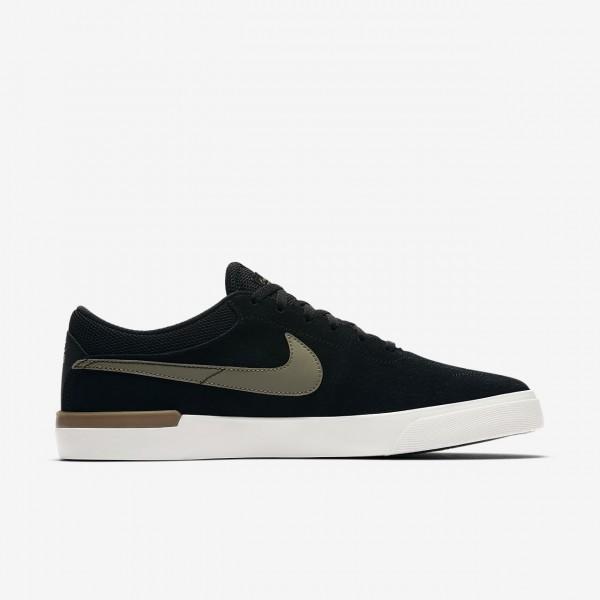 Nike Sb Koston Hypervulc Skaterschuhe Herren Schwarz Braun Weiß Olive 219-30891