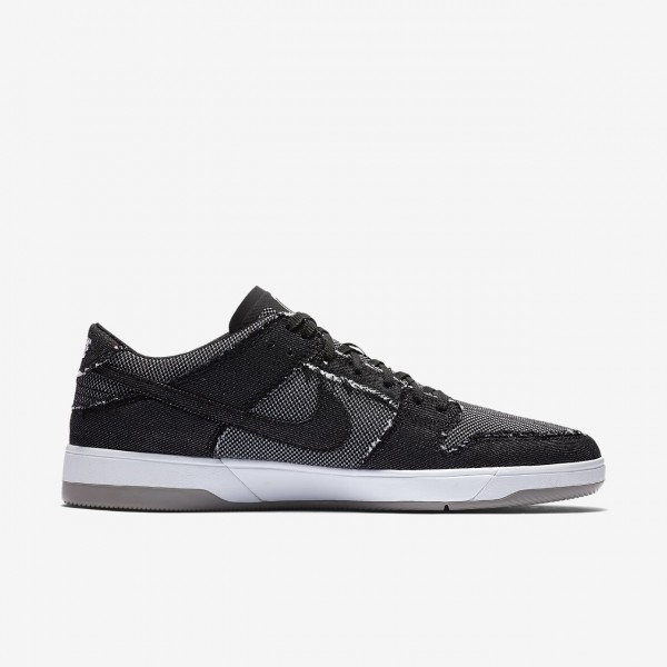 Nike Sb Dunk Elite low X Medicom Skaterschuhe Herren Schwarz Weiß Grau 248-42119