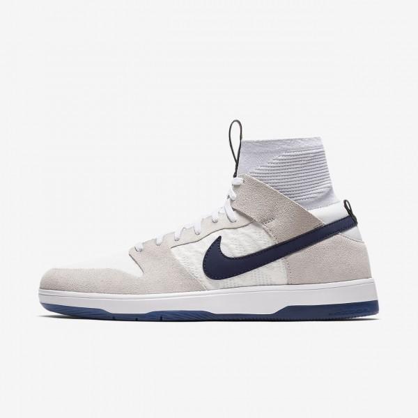 Nike Sb Dunk Elite high Qs Skaterschuhe Herren Wei...