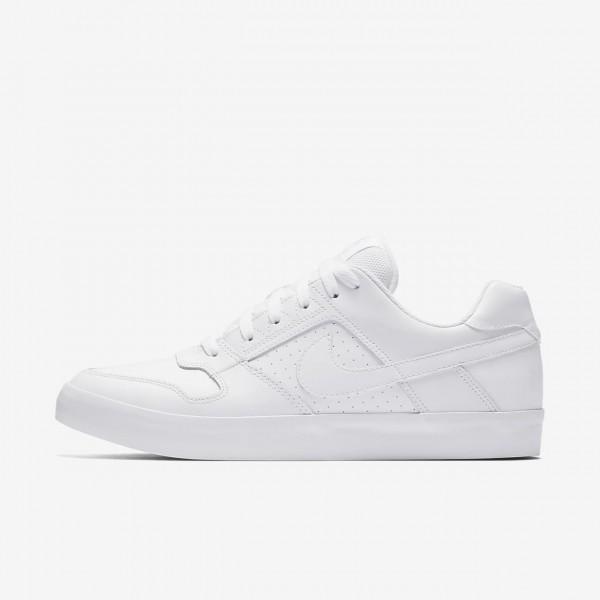 Nike Sb Delta Force Vulc Skaterschuhe Herren Weiß...
