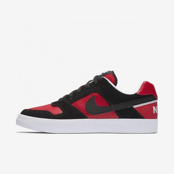 Nike Sb Delta Force Vulc Skaterschuhe Herren Schwa...