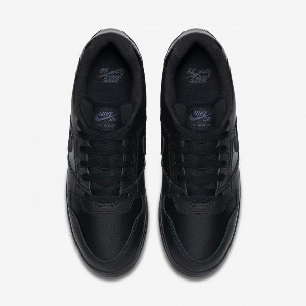 Nike Sb Delta Force Vulc Skaterschuhe Herren Schwarz 575-80108