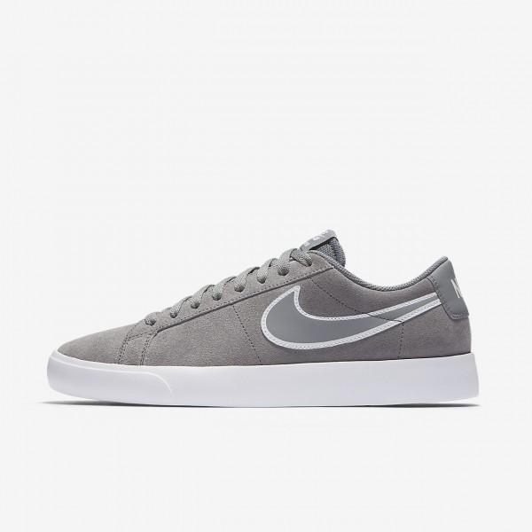 Nike Sb Blazer Vapor Skaterschuhe Herren Grau Wei�...