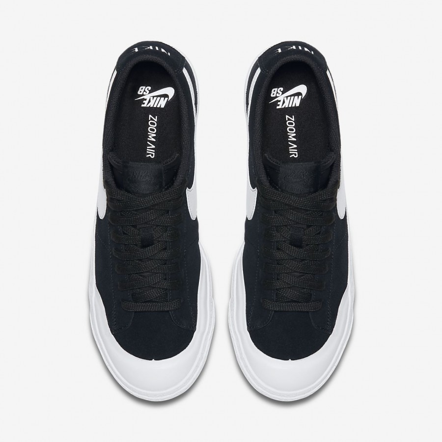 Nike Sb Blazer low Xt Skaterschuhe Herren Schwarz Hellbraun