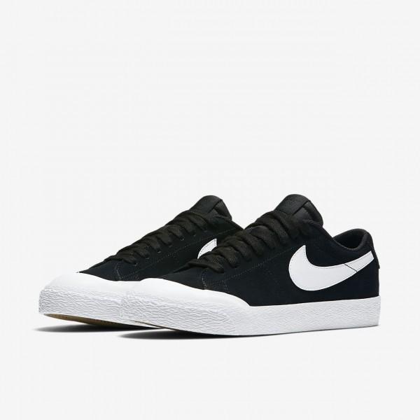 Nike Sb Blazer low Xt Skaterschuhe Herren Schwarz Hellbraun Weiß 269-97772