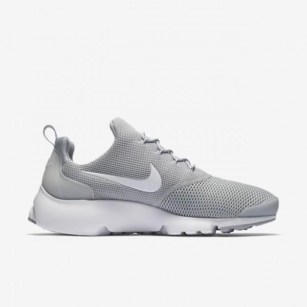 Nike Presto Fly Freizeitschuhe Herren Grau Weiß 964-63348