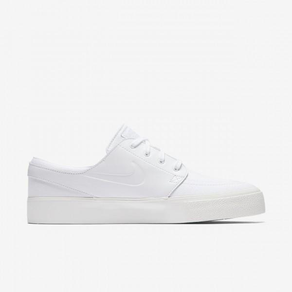 Nike Sb Air Zoom Stefan Janoski Elite Ht Skaterschuhe Herren Weiß Platin 378-71888