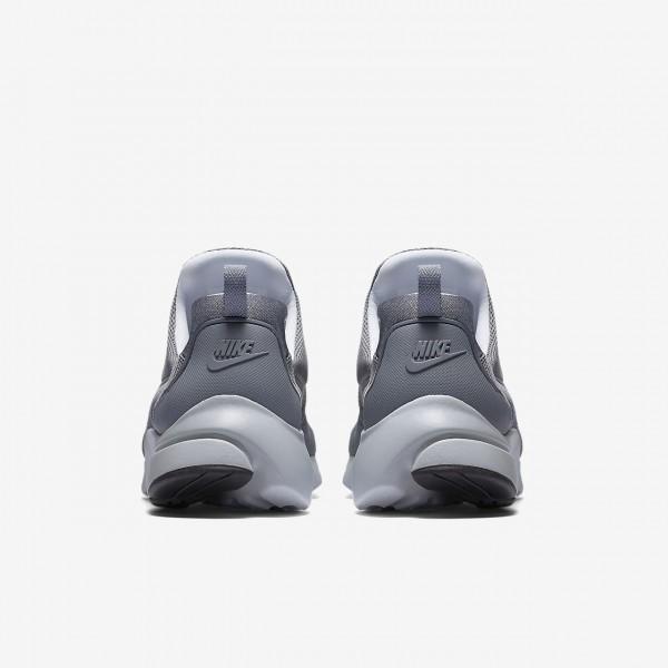 Nike Presto Fly Freizeitschuhe Herren Grau Platin Schwarz Weiß 550-13043