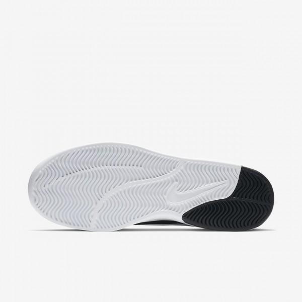 Nike Sb Air Max Bruin Vapor Skaterschuhe Herren Schwarz Weiß 418-68478