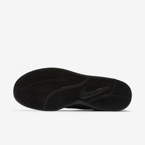 Nike Sb Air Max Bruin Vapor Skaterschuhe Herren Schwarz 740-50217