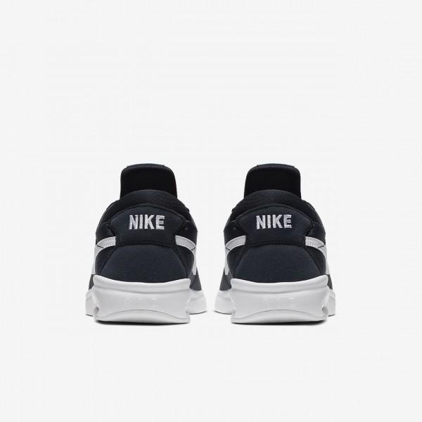 Nike Sb Air Max Bruin Vapor Skaterschuhe Herren Obsidian Weiß 290-72078