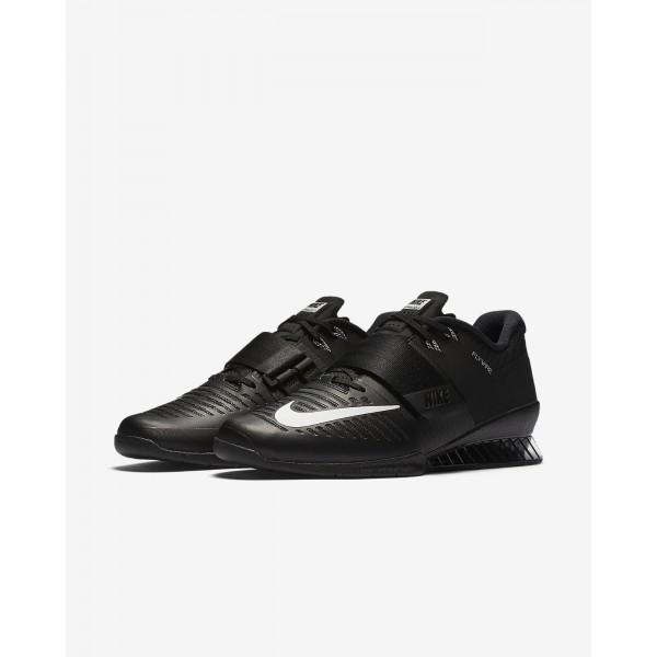 Nike Romaleos 3 Gewichtheberschuhe Herren Schwarz Weiß 546-61281