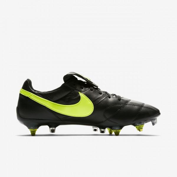 Nike Premier II Anti-clog Traction Sg-pro Fußballschuhe Herren Schwarz Grün 346-16399