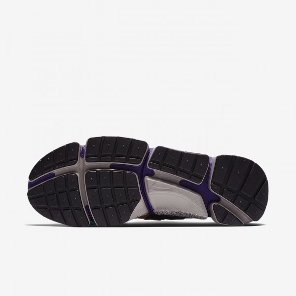 Nike Pocket Knife Dm Freizeitschuhe Herren Silber Khaki Lila Schwarz 689-87605