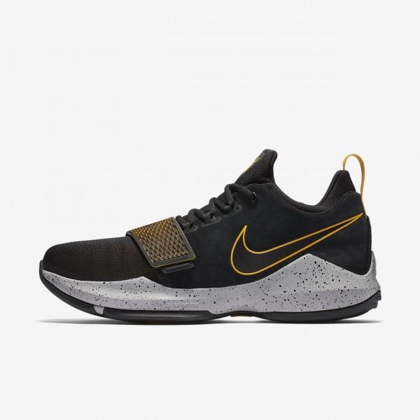 Nike Pg1 Basketballschuhe Herren Schwarz Gold 892-...