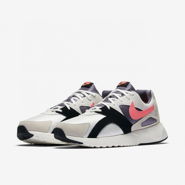 Nike Pantheos Freizeitschuhe Herren Weiß Schwarz Hellgrau Rosa 464-47215