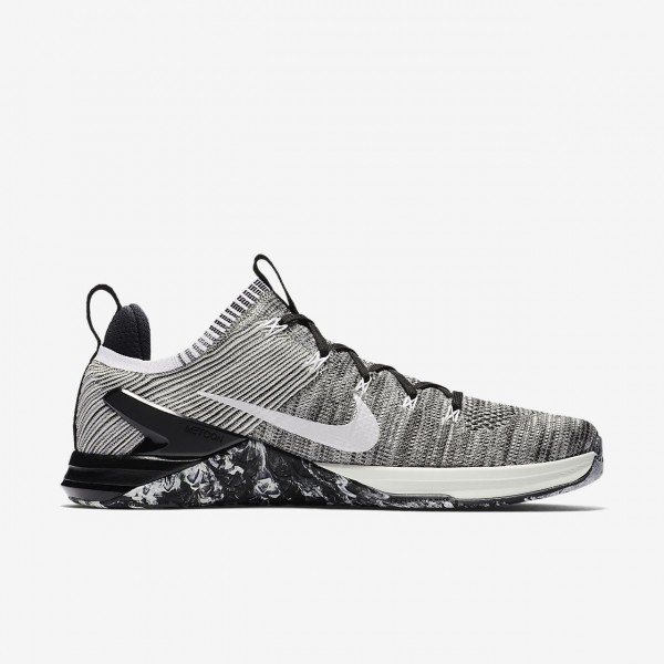Nike Metcon Dsx Flyknit 2 Trainingsschuhe Herren Silber Hellsilber Weiß 367-23351