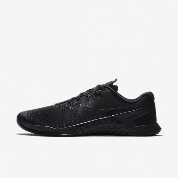 Nike Metcon 4 Trainingsschuhe Herren Schwarz Rot 553-32420