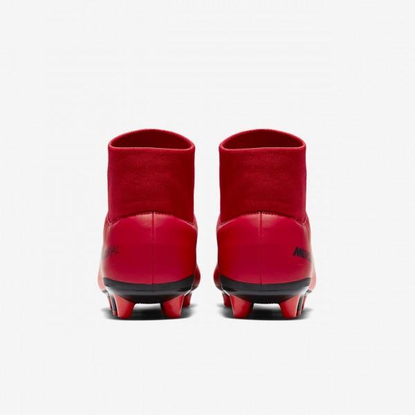 Nike Mercurial Victory VI Dynamic Fit Ag-pro Fußballschuhe Herren Rot Schwarz 653-48598