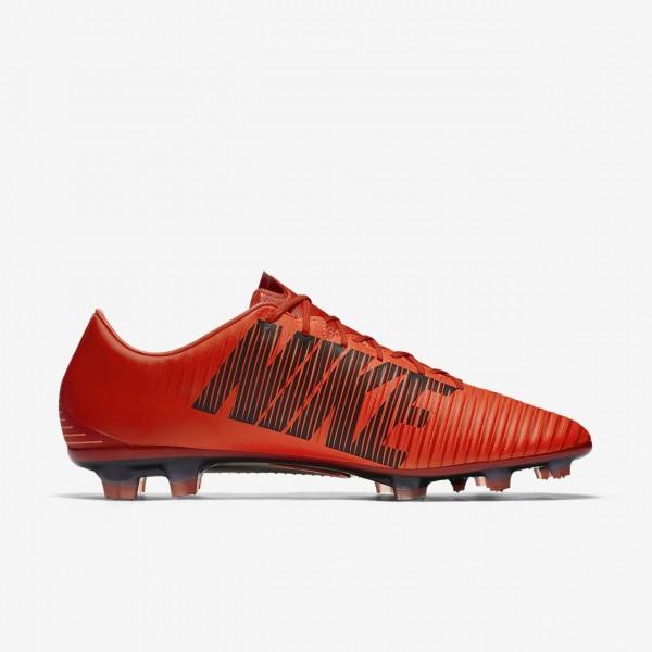 Nike Mercurial Veloce III Fg Fußballschuhe Herren Rot Schwarz 987-41054