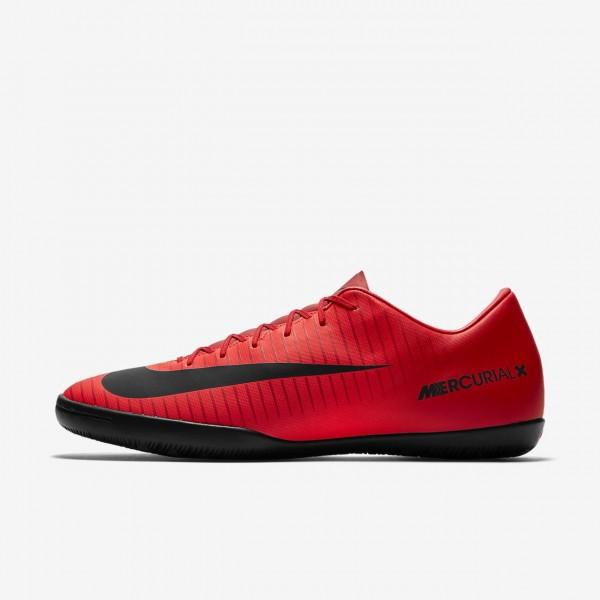 Nike Mercurial Victory VI Ic Fußballschuhe Herren Rot Schwarz 589-10132