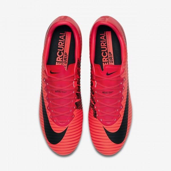 Nike Mercurial Vapor XI Sg-pro Anti-clog Fußballschuhe Herren Rot Schwarz 327-62361