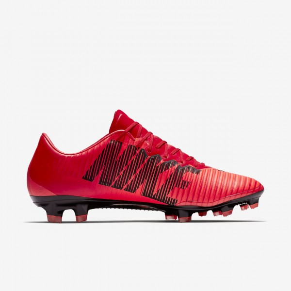 Nike Mercurial Vapor XI Fg Fußballschuhe Herren Rot Schwarz 975-29373