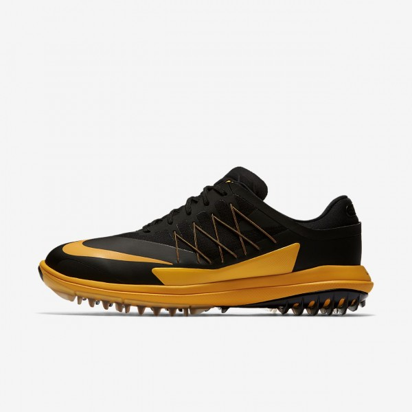 Nike Lunar Control Vapor Golfschuhe Herren Schwarz Orange 710-69400
