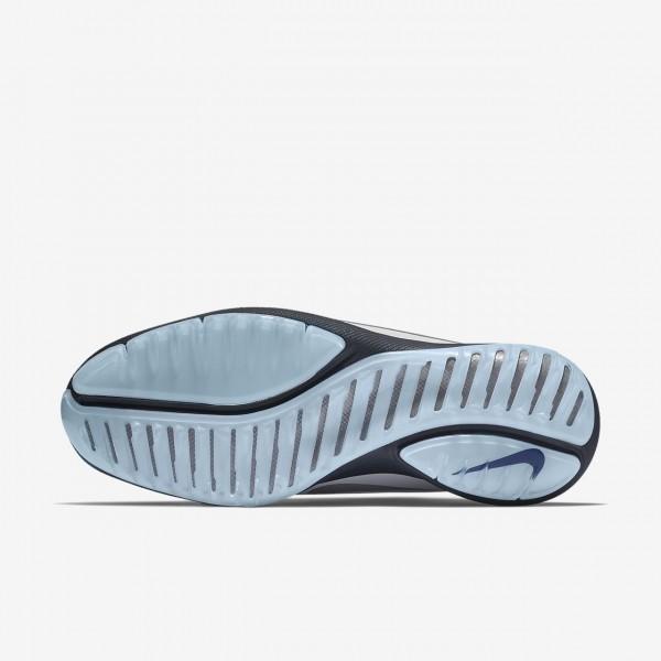 Nike Lunar Control Vapor 2 Golfschuhe Herren Blau Weiß Platin Silber 125-93226