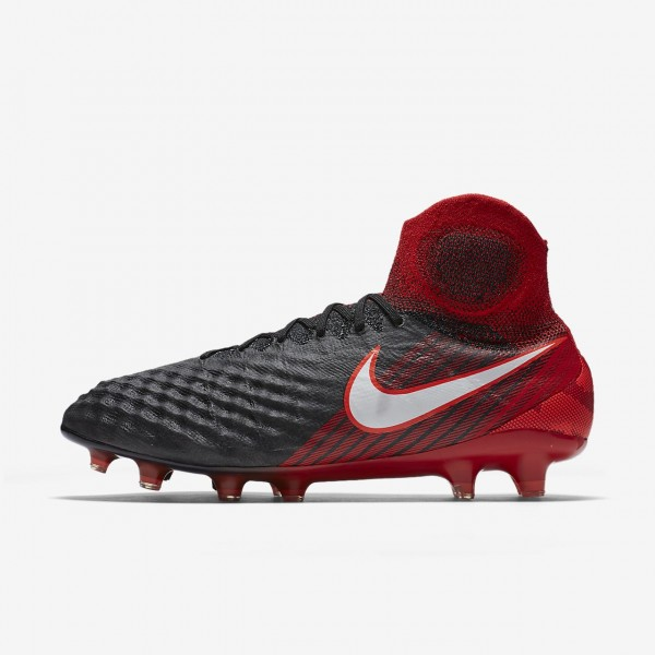 Nike Magista Obra II Fg Fußballschuhe Herren Schw...