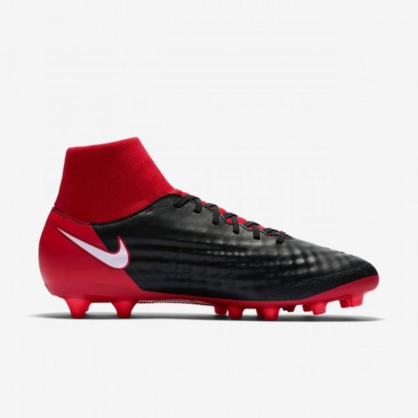 Nike Magista Onda II Dynamic Fit Ag-pro Fußballschuhe Herren Schwarz Rot Weiß 410-73687