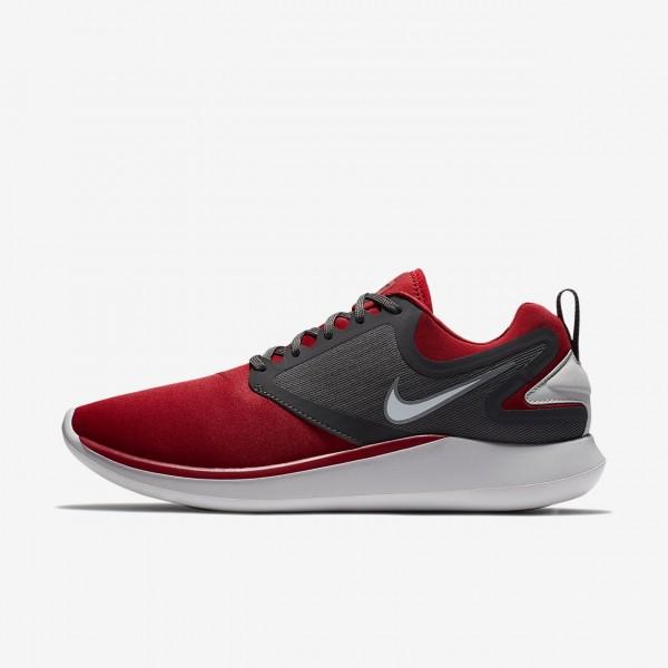 Nike Lunarsolo Laufschuhe Herren Rot Grau Weiß 58...