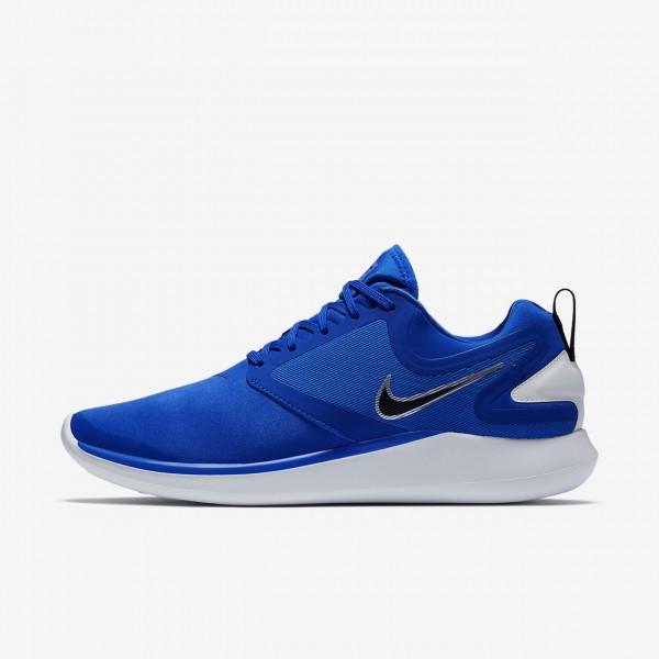 Nike Lunarsolo Laufschuhe Herren Blau Gold Weiß 7...