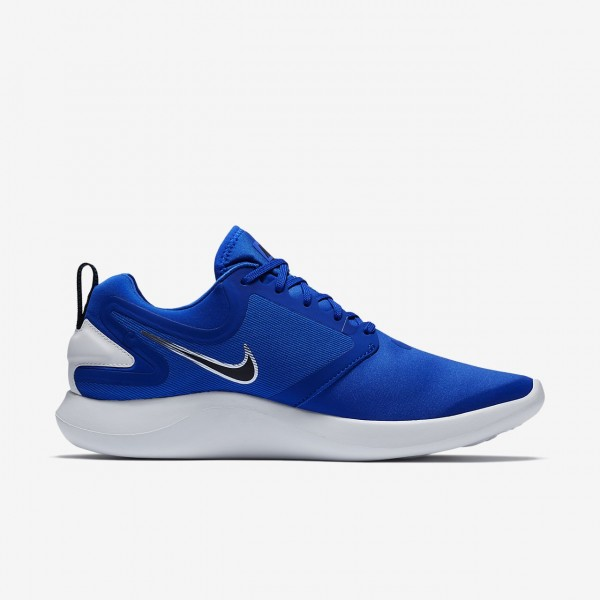 Nike Lunarsolo Laufschuhe Herren Blau Gold Weiß 750-33868
