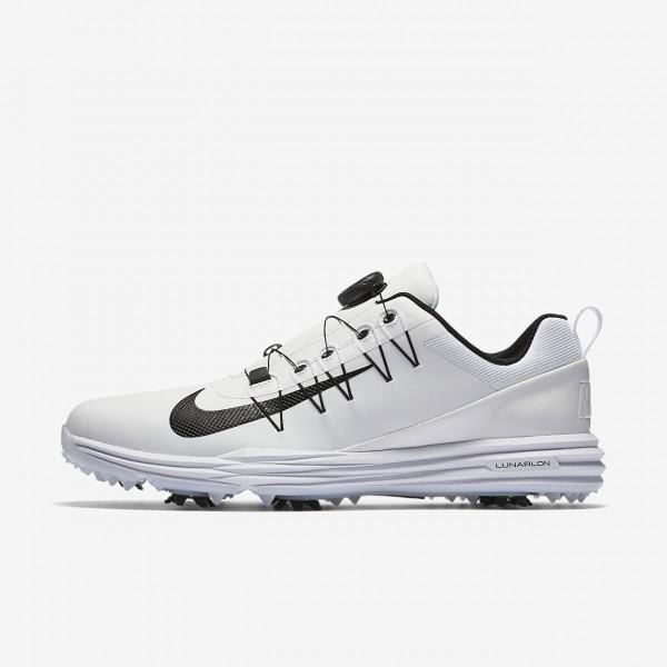Nike Lunar Command 2 Boa Golfschuhe Herren Weiß S...