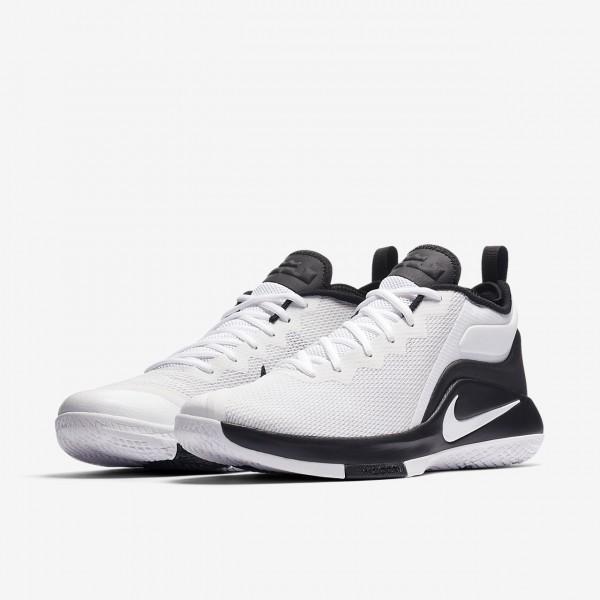 Nike Lebron Witness II Basketballschuhe Herren Weiß Schwarz Platin 334-56358