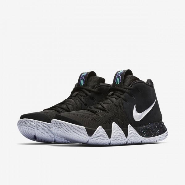 Nike Kyrie 4 Basketballschuhe Herren Schwarz Hellblau Weiß 270-70827