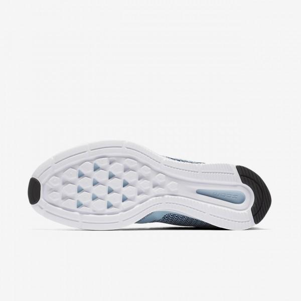 Nike Zoom Strike Laufschuhe Damen Blau Schwarz Weiß Grau 933-49892