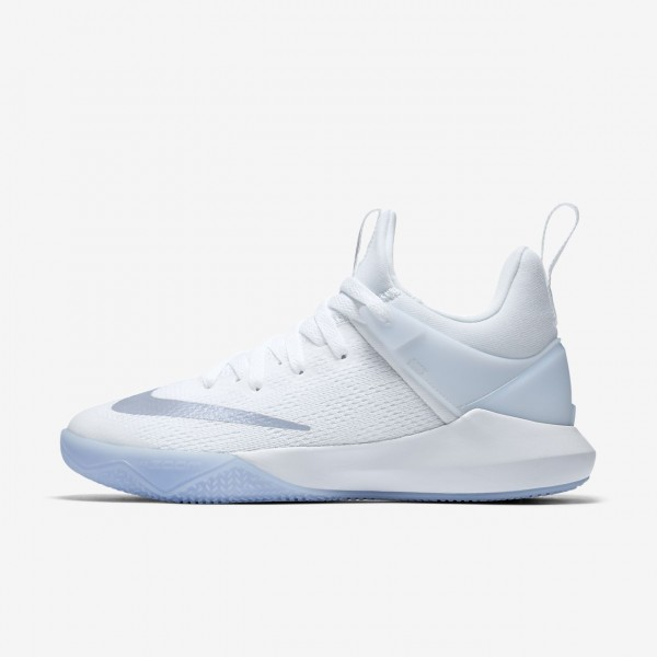 Nike Zoom Shift Basketballschuhe Damen Weiß Grau ...