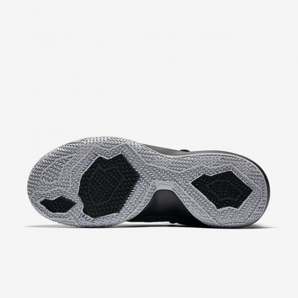 Nike Zoom Shift Basketballschuhe Damen Schwarz Grau Silber 760-86172