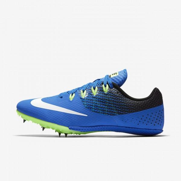 Nike Zoom Rival S 8 Spike Schuhe Damen Blau Schwar...