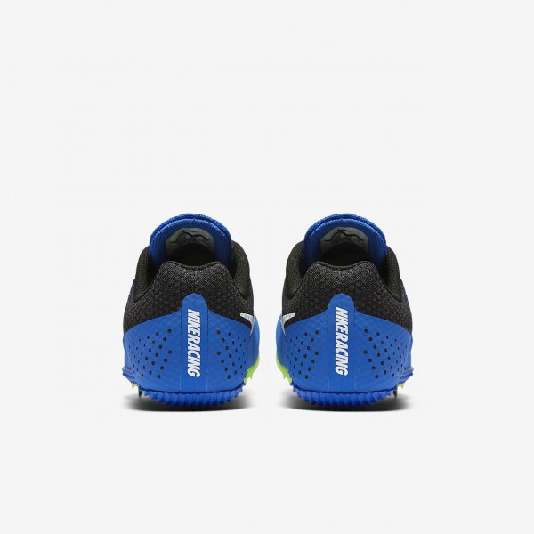 Nike Zoom Rival S 8 Spike Schuhe Damen Blau Schwarz Grün Weiß 916-38101