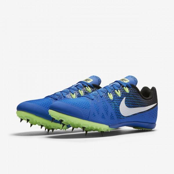 Nike Zoom Rival M 8 Spike Schuhe Damen Blau Schwarz Grün Weiß 155-67476