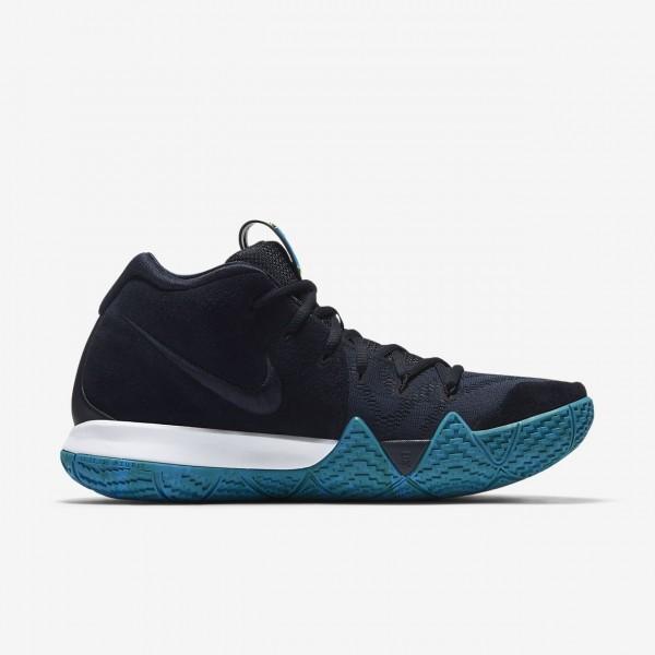 Nike Kyrie 4 Basketballschuhe Herren Dunkelobsidian Schwarz 853-76528