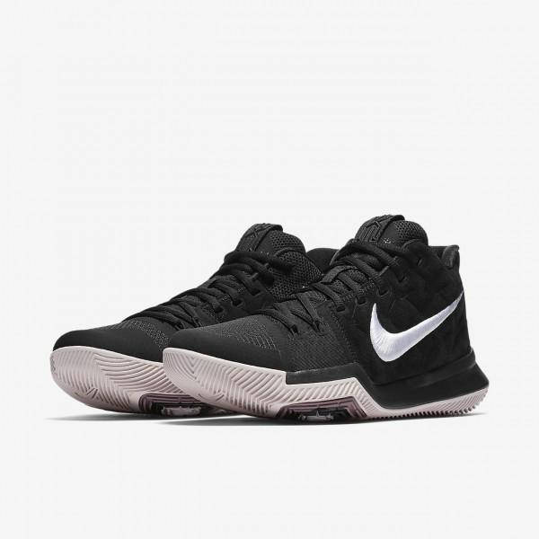 Nike Kyrie 3 Basketballschuhe Herren Schwarz Grau Rot Weiß 940-82238