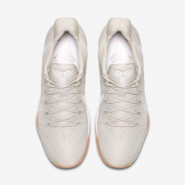 Nike Kobe Ad Basketballschuhe Herren Weiß Grau 768-15821