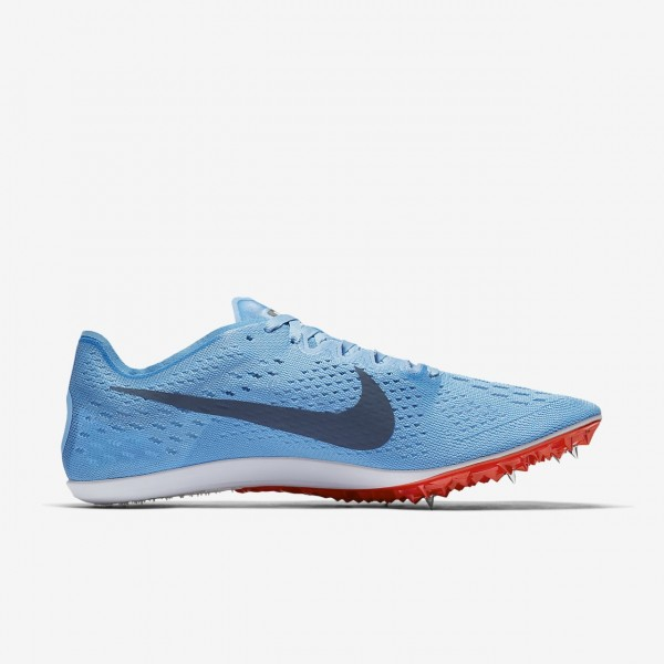 Nike Zoom Victory Elite 2 Spike Schuhe Damen Blau Rot 565-19037