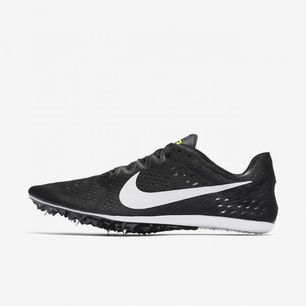Nike Zoom Victory 3 Spike Schuhe Damen Schwarz Grün Weiß 489-83821