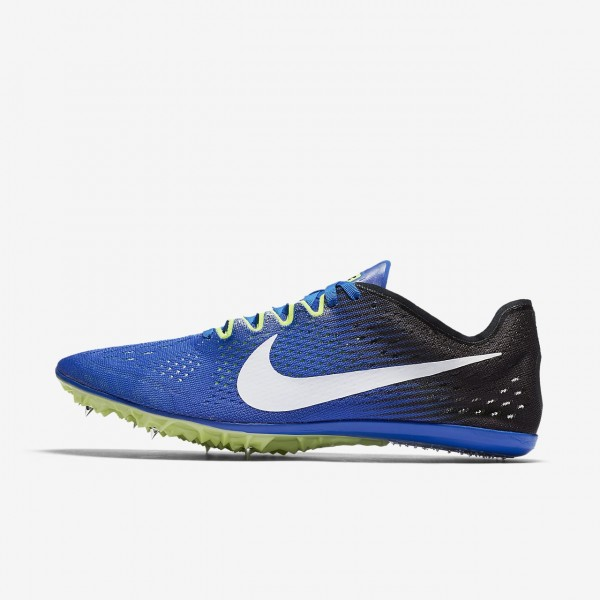 Nike Zoom Victory 3 Spike Schuhe Damen Blau Schwar...